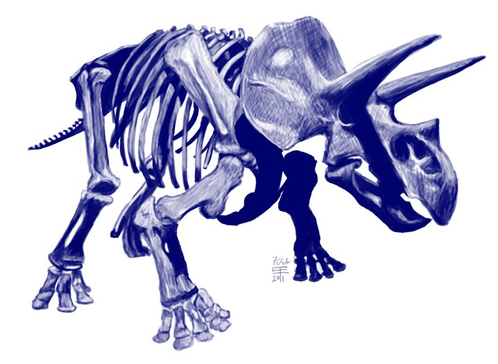 Triceratops, before it was used as the basis for Trikeratos