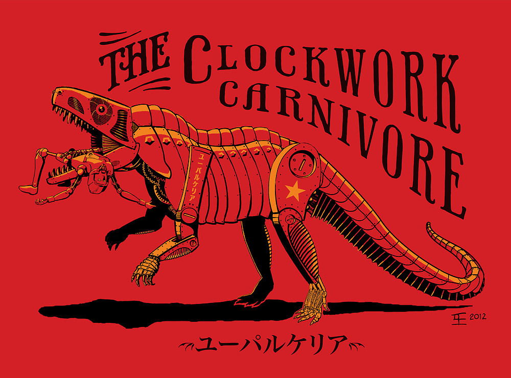 The Clockwork Carnivore in Red