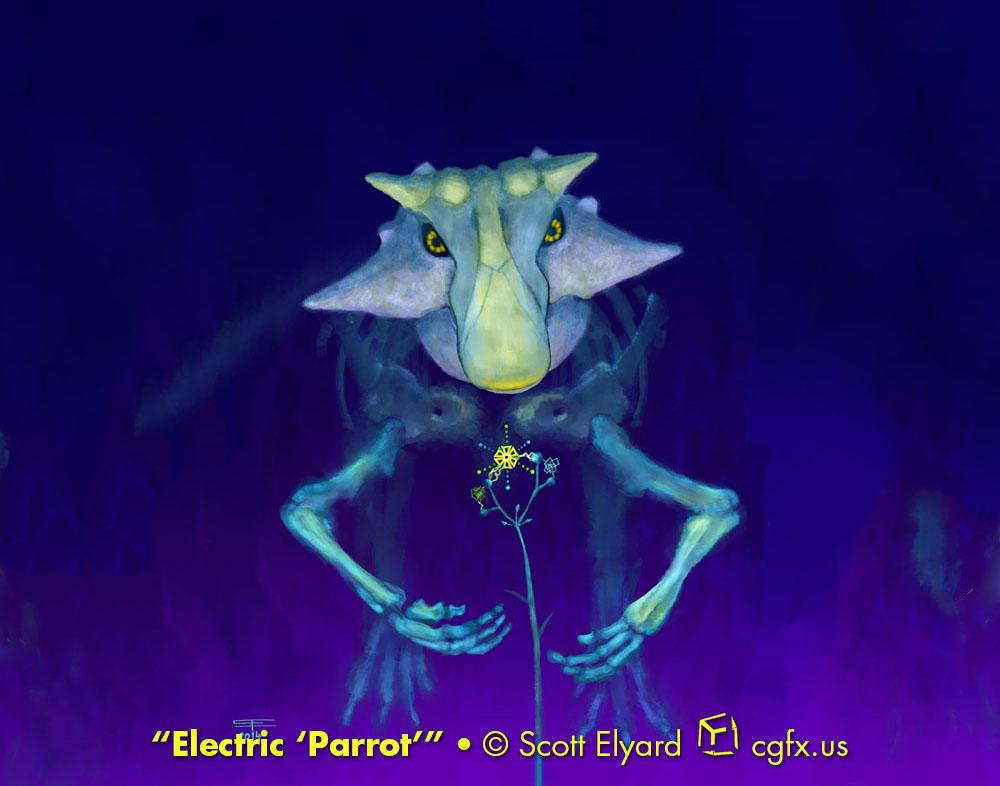 Electric 'Parrot': Psittacosaurus sibiricus