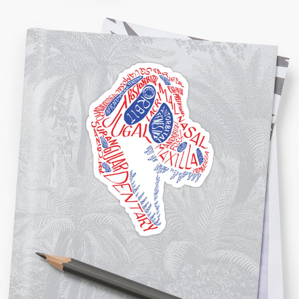 Tyrannosaurus calligram