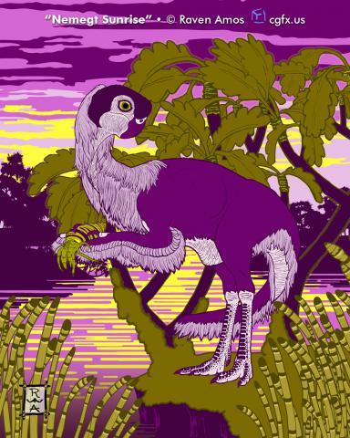 Conchoraptor gracilis