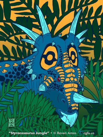 Styracosaurus Jungle